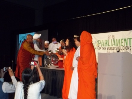 An interfaith water ritual and blessing.